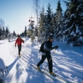 country-skiing